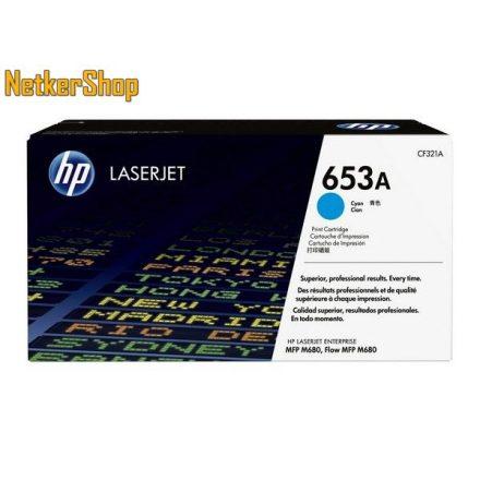 HP CF321A (653A) Cyan eredeti toner (1 év garancia)