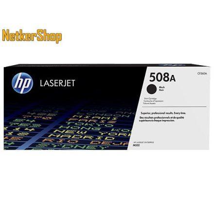 HP CF360A (508A) fekete eredeti toner (1 év garancia)