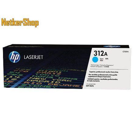 HP CF381A (312A) Cyan eredeti toner (1 év garancia)