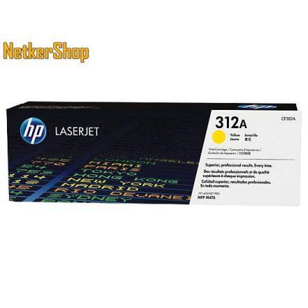 HP CF382A (312A) sárga eredeti toner (1 év garancia)