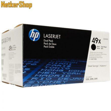 HP Q5949X (49X) fekete eredeti toner (1 év garancia)