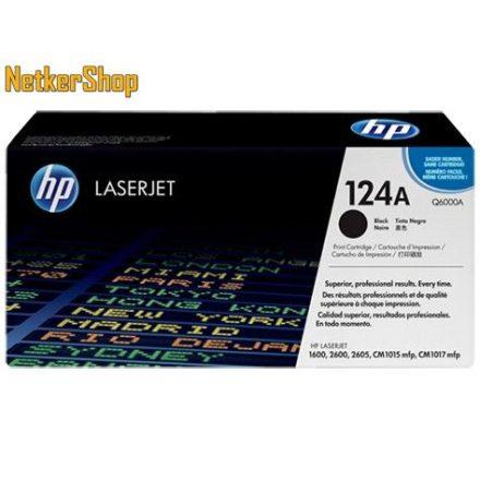 HP Q6000A (124A) fekete eredeti toner (1 év garancia)