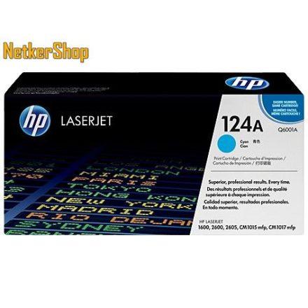 HP Q6001A (124A) Cyan eredeti toner (1 év garancia)