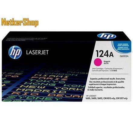 HP Q6003A (124A) Magenta eredeti toner (1 év garancia)