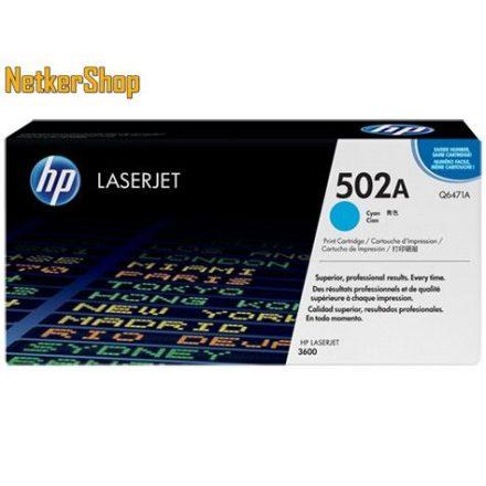 HP Q6471A (502A) Cyan eredeti toner (1 év garancia)