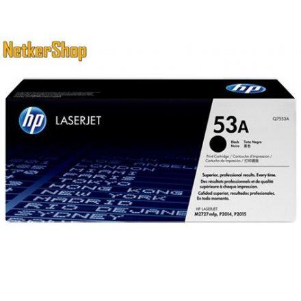 HP Q7553A (53A) fekete eredeti toner (1 év garancia)