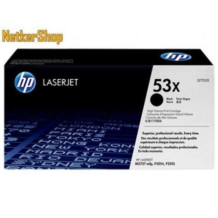 HP Q7553X (53X) fekete eredeti toner (1 év garancia)