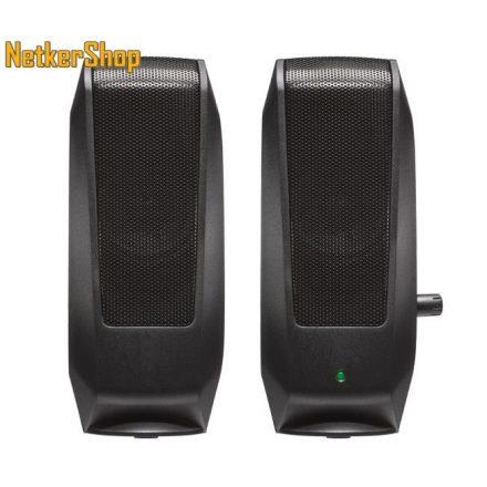 Logitech S120 2.0 fekete 980-000010 Hangszóró (2 év garancia)