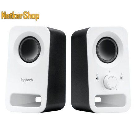 Logitech Z150 2.0 fehér 980-000815 Hangszóró (2 év garancia)