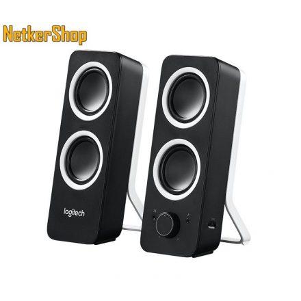 Logitech Z200 2.0 fekete 980-000810 Hangszóró (2 év garancia)