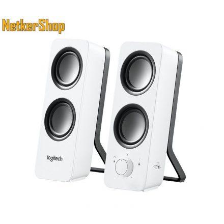 Logitech Z200 2.0 fehér 980-000811 Hangszóró (2 év garancia)