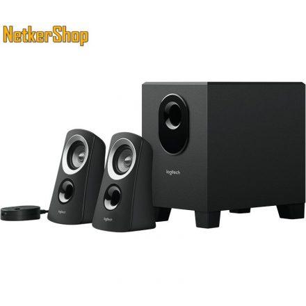 Logitech Z313 2.1 fekete 980-000413 Hangszóró (2 év garancia)