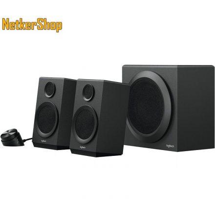 Logitech Z333 Speaker System 2.1 fekete 980-001202 Hangszóró (2 év garancia)