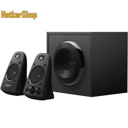 Logitech Z623 2.1 fekete 980-000403 Hangszóró (2 év garancia)