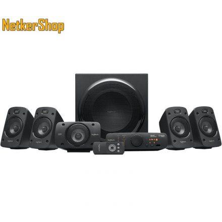 Logitech Z906 THX 5.1 fekete 980-000468 Hangszóró (2 év garancia)