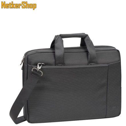 """RivaCase 8231 (6901801082315) Central 15,6"""" fekete Notebook táska (2 év garancia)"""