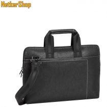 "RivaCase 8920 Orly (PU) slim 13,3"" fekete Notebook táska (1 év garancia)"