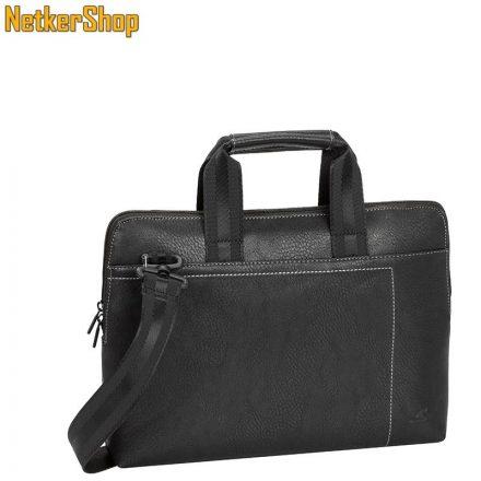 "RivaCase 8920 (4260403570296) Orly (PU) slim 13,3"" fekete Notebook táska (2 év garancia)"