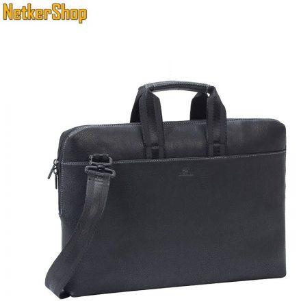 "RivaCase 8931 (6906201089315) Orly (PU) slim 15,6"" fekete Notebook táska (2 év garancia)"
