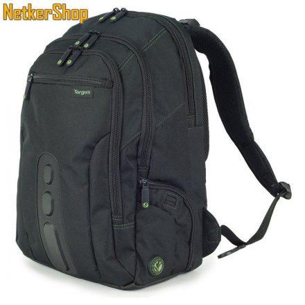 """Targus 15,6"""" Eco Spruce fekete Notebook hátizsák (1 év garancia)"""