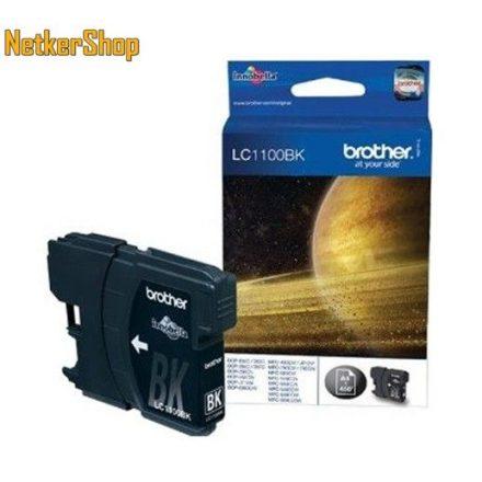Brother LC-1100BK fekete eredeti tintapatron (1 év garancia)