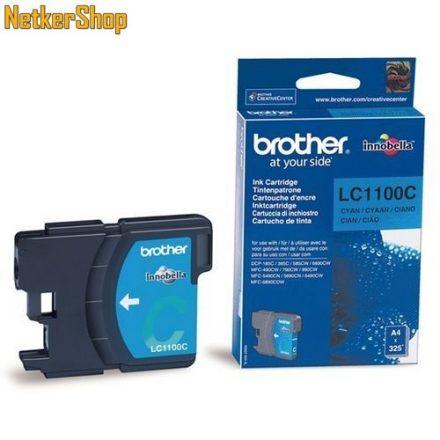 Brother LC-1100C Cyan eredeti tintapatron (1 év garancia)