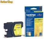 Brother LC1100HY-Y sárga eredeti tintapatron (1 év garancia)
