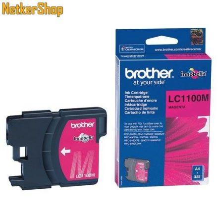Brother LC-1100M Magenta eredeti tintapatron (1 év garancia)
