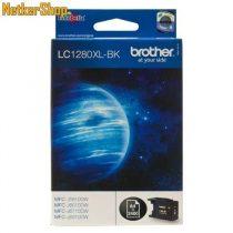 Brother LC1280XLBK fekete eredeti tintapatron (1 év garancia)