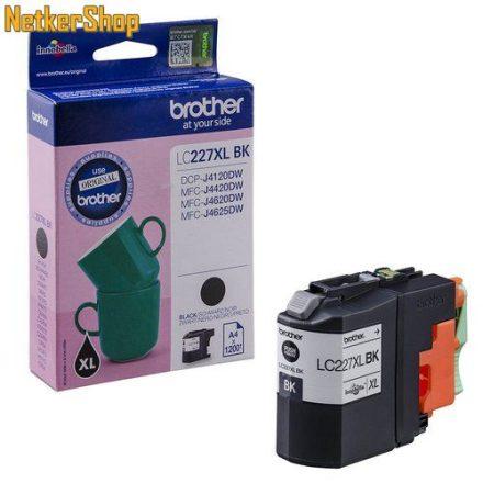 Brother LC-227XLBK fekete eredeti tintapatron (1 év garancia)