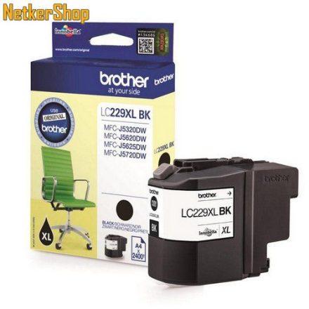 Brother LC-229XLBK fekete eredeti tintapatron (1 év garancia)