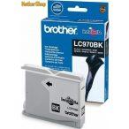 Brother LC970BK fekete eredeti tintapatron (1 év garancia)