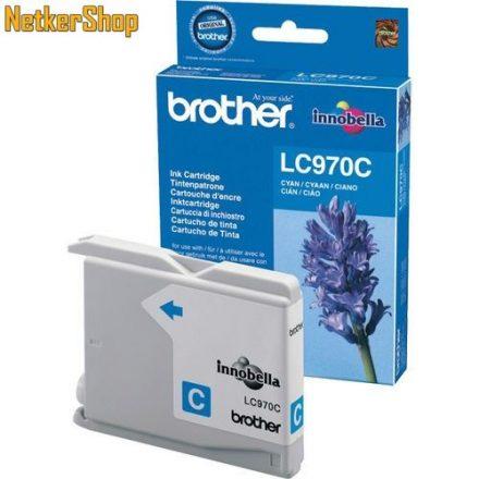 Brother LC-970C Cyan eredeti tintapatron (1 év garancia)