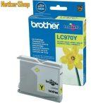 Brother LC970Y sárga eredeti tintapatron (1 év garancia)