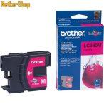 Brother LC980M Magenta eredeti tintapatron (1 év garancia)