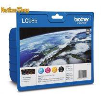 Brother LC985 Multipack (C,M,Y,BK) eredeti tintapatron (1 év garancia)