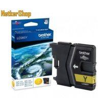 Brother LC985Y sárga eredeti tintapatron (1 év garancia)