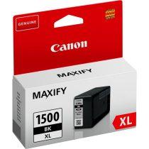 Canon PGI-1500XL BK fekete eredeti tintapatron (1 év garancia)
