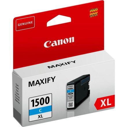Canon PGI-1500XL cián (9193B001) eredeti tintapatron (1 év garancia)