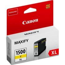 Canon PGI-1500XL Y sárga eredeti tintapatron (1 év garancia)