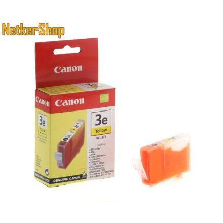 Canon BCI-3eY sárga (4482A002) eredeti tintapatron (1 év garancia)