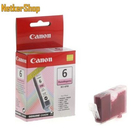 Canon BCI-6PM fotó magenta (4710A002) eredeti tintapatron (1 év garancia)