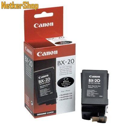 Canon BX-20 fekete (0896A002) eredeti tintapatron (1 év garancia)