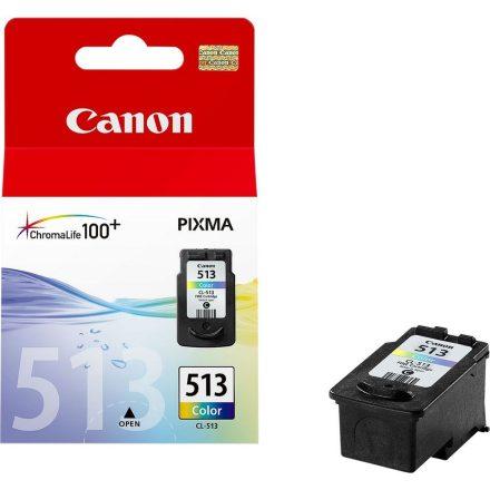 Canon CL-513 színes (2971B001) eredeti tintapatron (1 év garancia)