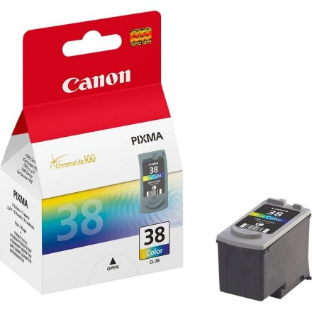 Canon CL-38 színes (2146B001) eredeti tintapatron (1 év garancia)