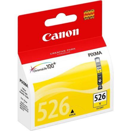 Canon CLI-526Y sárga (4543B001) eredeti tintapatron (1 év garancia)