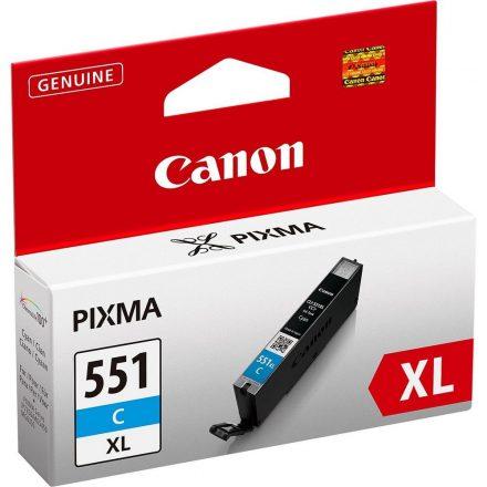 Canon CLI-551C XL cián (6444B001) eredeti tintapatron (1 év garancia)