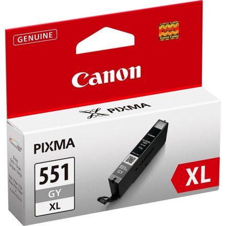 Canon CLI-551GY XL szürke (6447B001) eredeti tintapatron (1 év garancia)