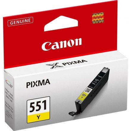 Canon CLI-551Y sárga (6511B001) eredeti tintapatron (1 év garancia)