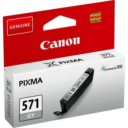 Canon CLI-571GY szürke (0389C001) eredeti tintapatron (1 év garancia)